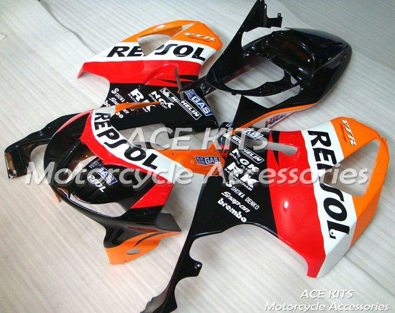 Neue ABS motorrad Verkleidung Für HONDA 2000-2006 VTR1000 VTR SP1 SP2 RVT1000R RC51 Injection Bodywor Alle arten von farbe No. 462