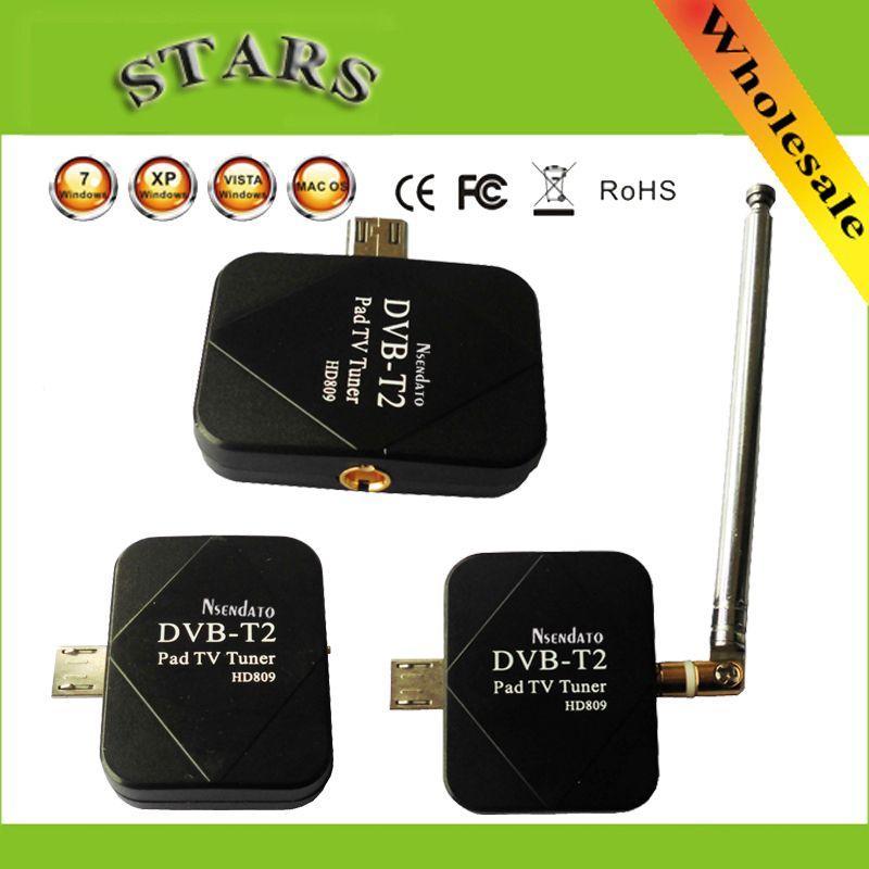 Récepteur de DVB-T2 USB TV Tuner dvb-t2 DVB T2 DVB-T Dongle TV récepteur HD TV numérique regarder en direct TV bâton pour Android Pad téléphone tablette PC