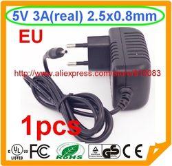 Haute qualité IC 1 PCS 5 V 3A Puissance Adaptateur 2.5mm 0.7mm Chargeur pour Tablet Sanei N10 Ampe A10 Ainol Hero II Spark T7s Chuwi V99 V88