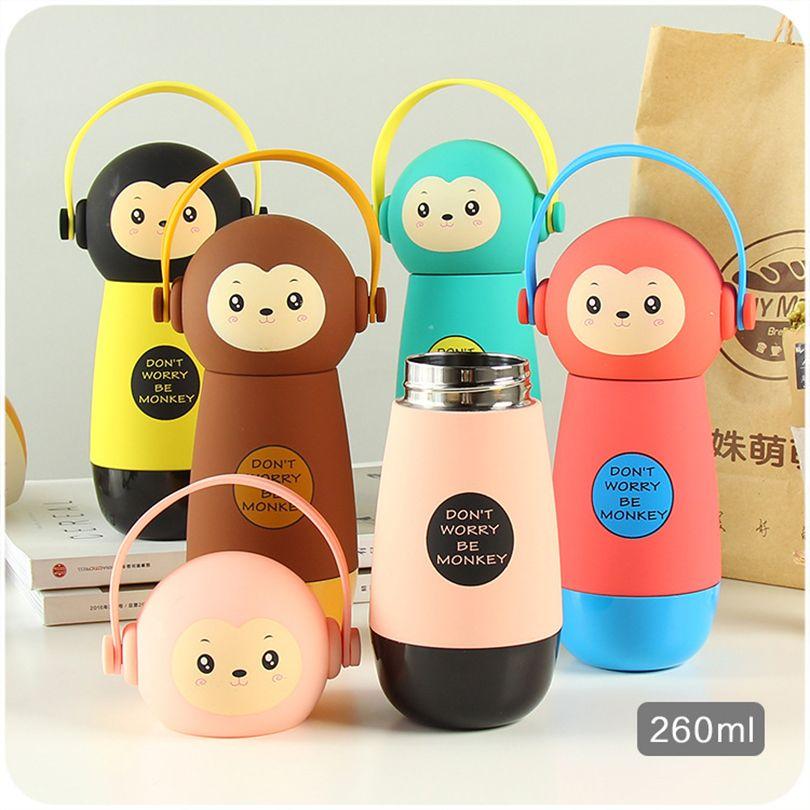 Горячая Детские Бутылочки экологичный малыш ребенок мультфильм детей бутылку воды Sport bottle милый творческий thermo чайник для Открытый школы