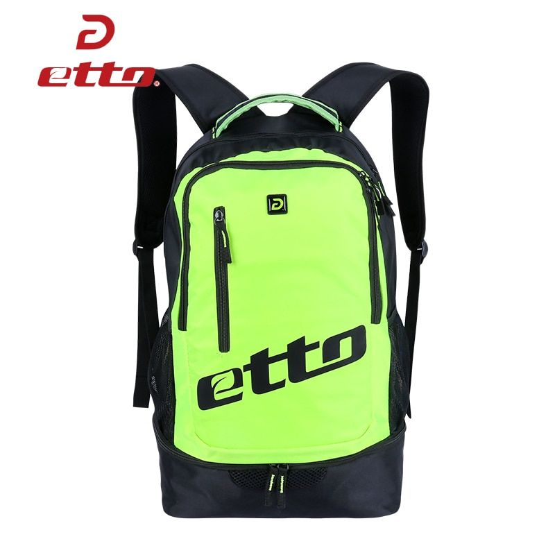 Etto 2018 Original Sport Backpack for Soccer Training Men Great Fitness Bag Women Waterproof Outdoor Shoulder Travel Bags HAB370