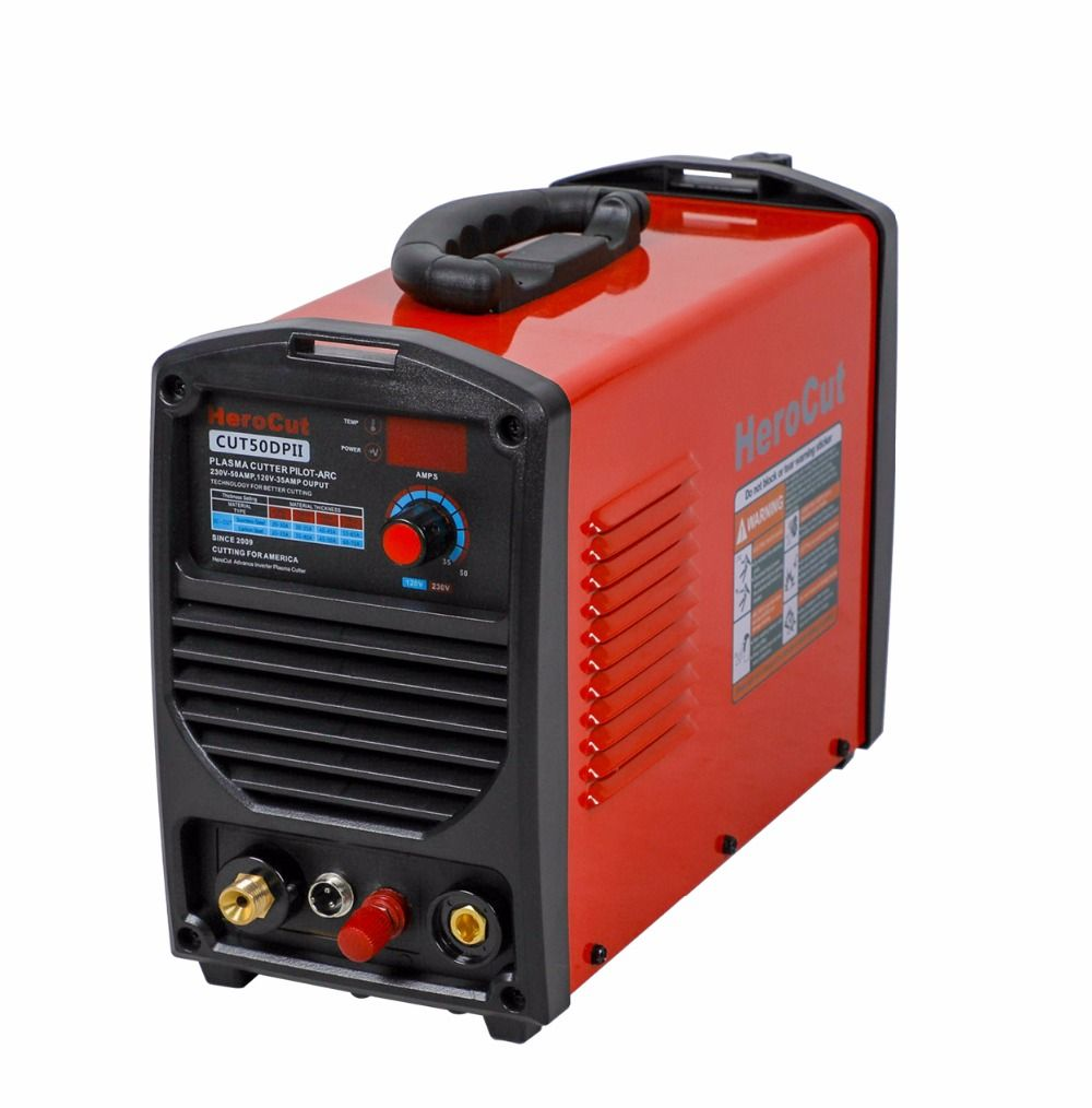 IGBT Pilot Arc Plasma cutting machine Plasma Cutter Cut50DP Dual Voltage 110/220V