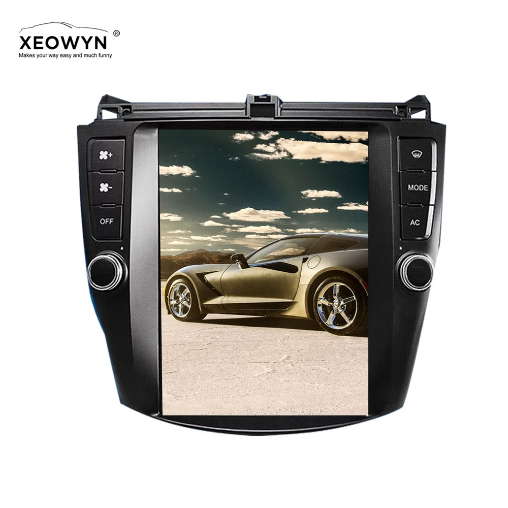 10.4'' Tesla style Vertical Screen Android Car Stereo Radio For Honda Accord 7 2003-2007 GPS Navigation Auto Multimedia player