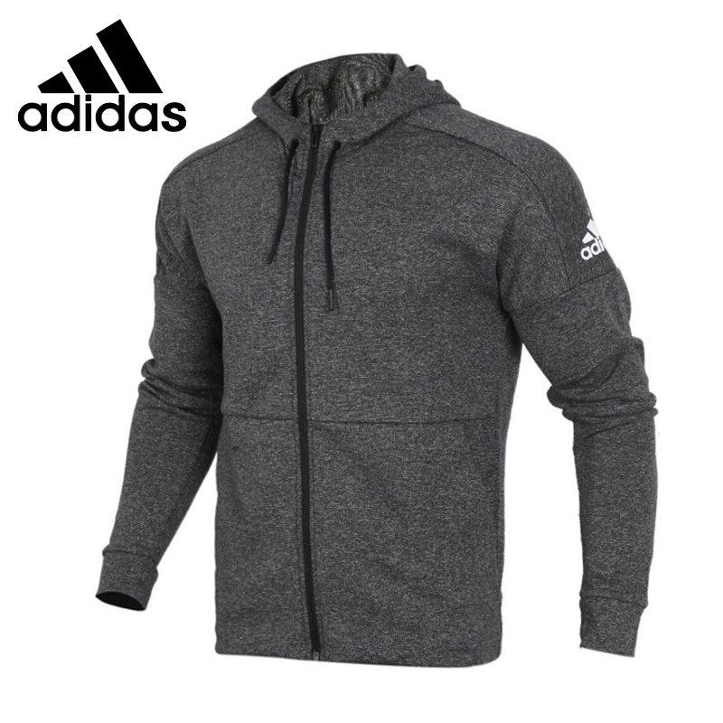 Original Neue Ankunft 2018 Adidas M ID STADUIM FZ männer jacke Kapuze Sport