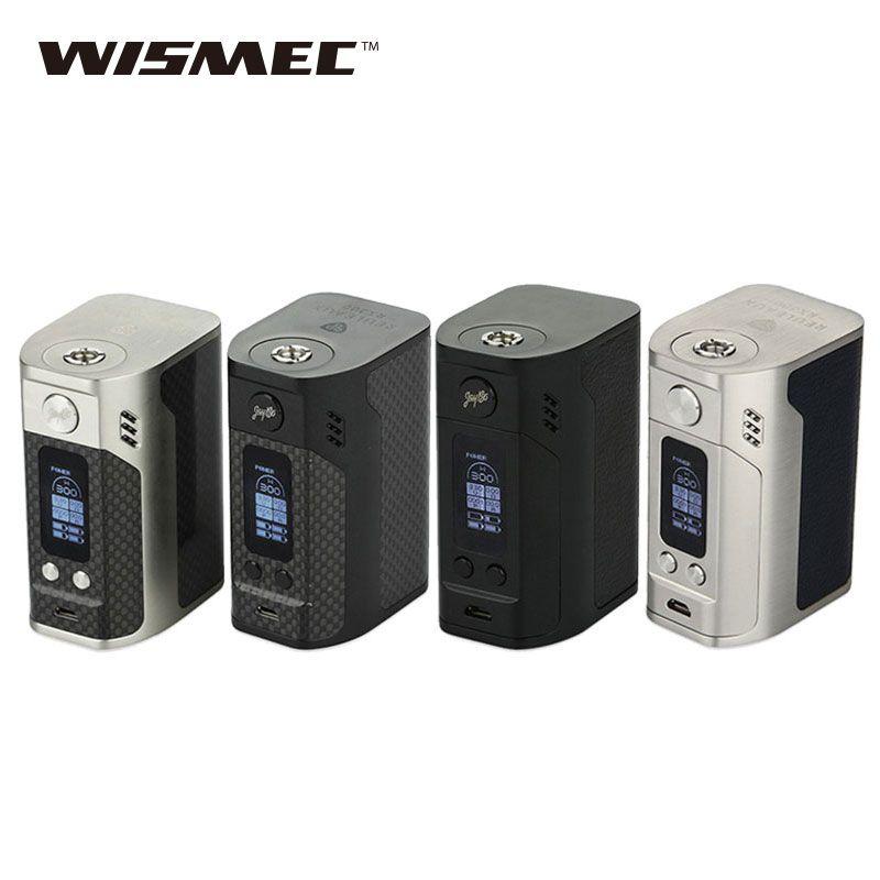 Оригинальный wismec Рел RX300 TC mod 300 Вт wismec RX300 поле mod VW/tc режимы электронная сигарета mod VS RX2/3 mod 100% оригинал