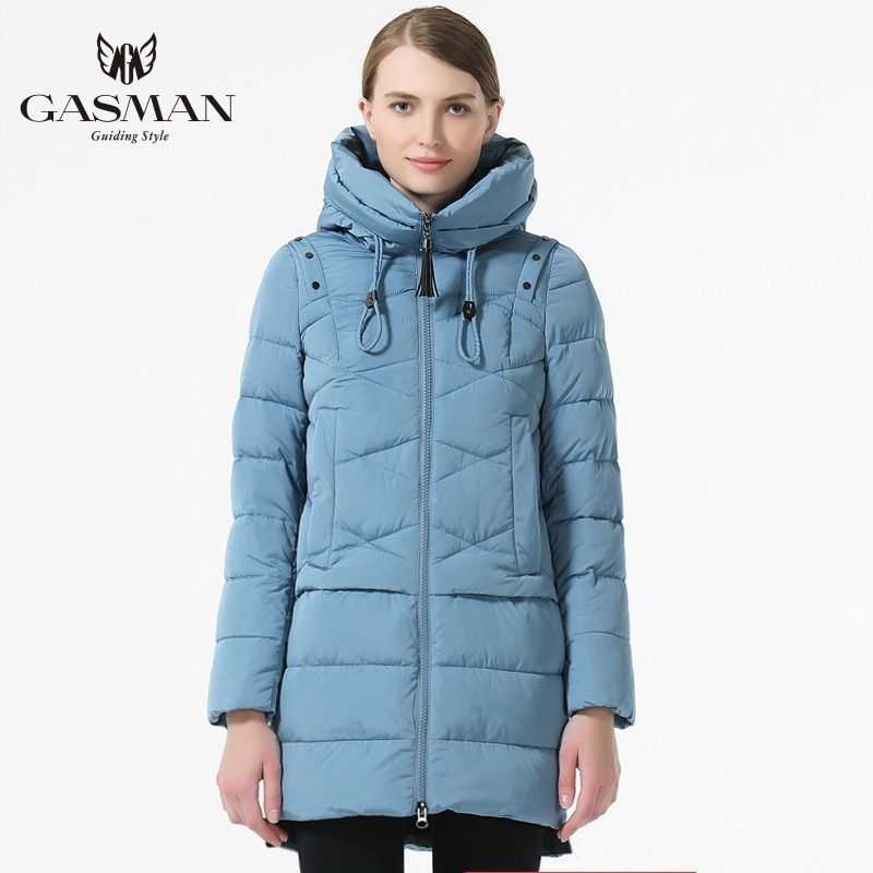 GASMAN 2019 Frauen Winter Mit Kapuze Verdickung Mantel Mode Nehmen Unten Jacke Weibliche Winddicht Mantel Casual Mit Kapuze Bio Unten Parka