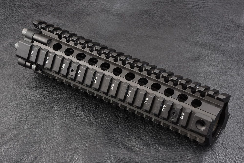 Hunting shooting Tactical  AR 15 picatinny rail Handguard system 9 inch cnc Aluminum alloy cutting M2299