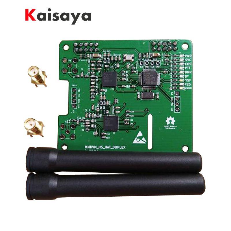 NEW MMDVM DUPLEX hotspot Support P25 DMR YSF NXDN DMR SLOT 1+ SLOT 2 for Raspberry pi A4-008