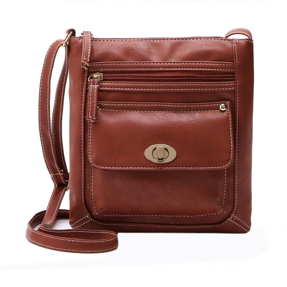 Small PU Leather Handbag Vintage Shoulder Bag Famous Designer Women Messenger Bag Fashion Female Crossbody Bags Mini Handbags