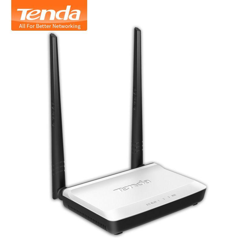 Tenda N300 Wireless WIFI Router Multi <font><b>Language</b></font> Russian Version WI-FI Repeater Booster Extender 802.11 b/g/n RJ45 4 Ports 300Mbps