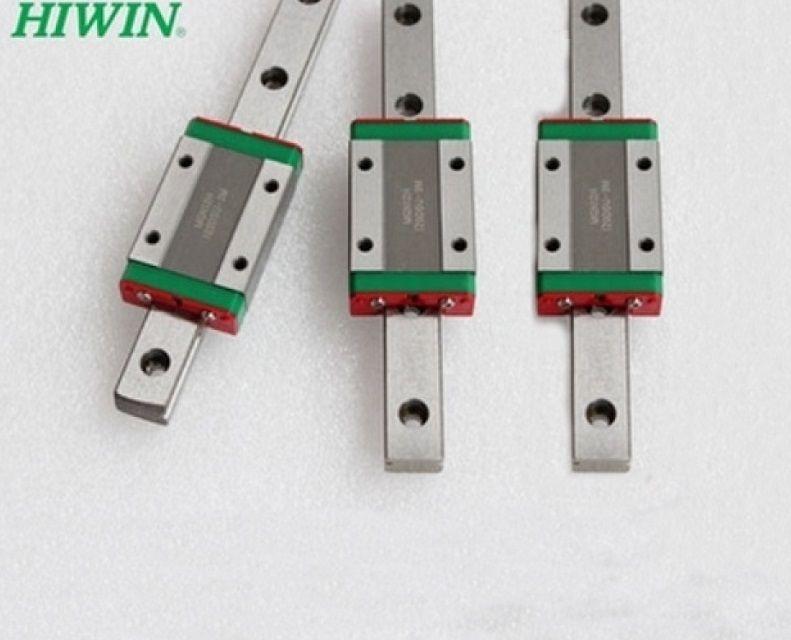 3 stücke Taiwan Original HIWIN linear führungsschiene MGNR15-L 270/270/390mm + 3 stücke MGN15C Blöcke für mini CNC teile sets