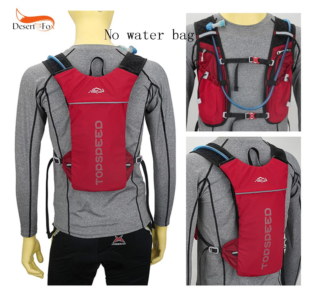 3 Color Marathon Water Bag Polyester Hydration Backpack Off-road Run Jogging Vest Style Outdoor Sports Cycling Racing