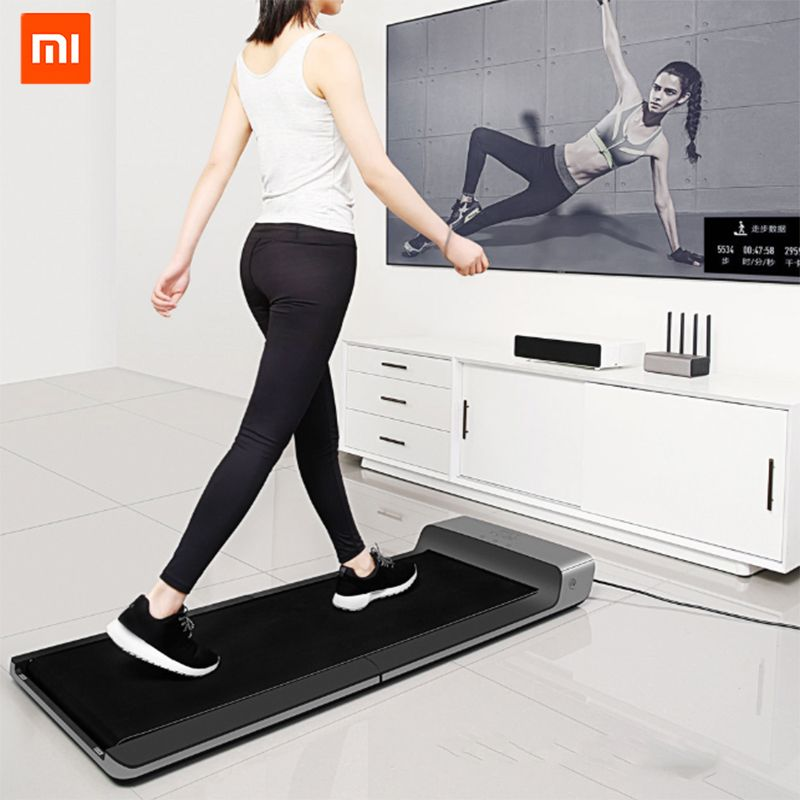 WalkingPad Xiaomi Product Walking Exercise Machine Collapsible No-install Free control of Speed Connect Mijia App View Database