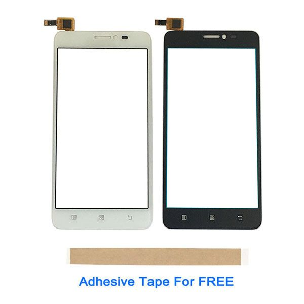 5.0 Inch For Lenovo S850 S 850 Touch Screen Glass Lens Digitizer Front Glass Sensor Black With Adhesive Tape