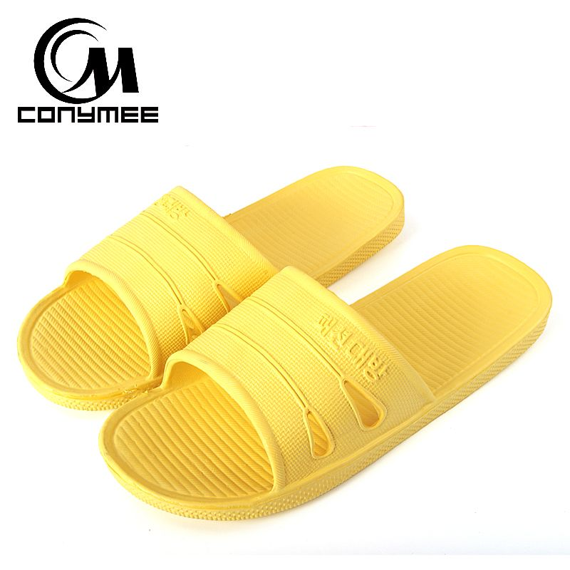 CONYMEE Sommer Schuhe Frau Indoor Hause Badeschuhe Alias Männer Frauen Strand Sandalen Flip-Flops Mode Zapatos Hombre