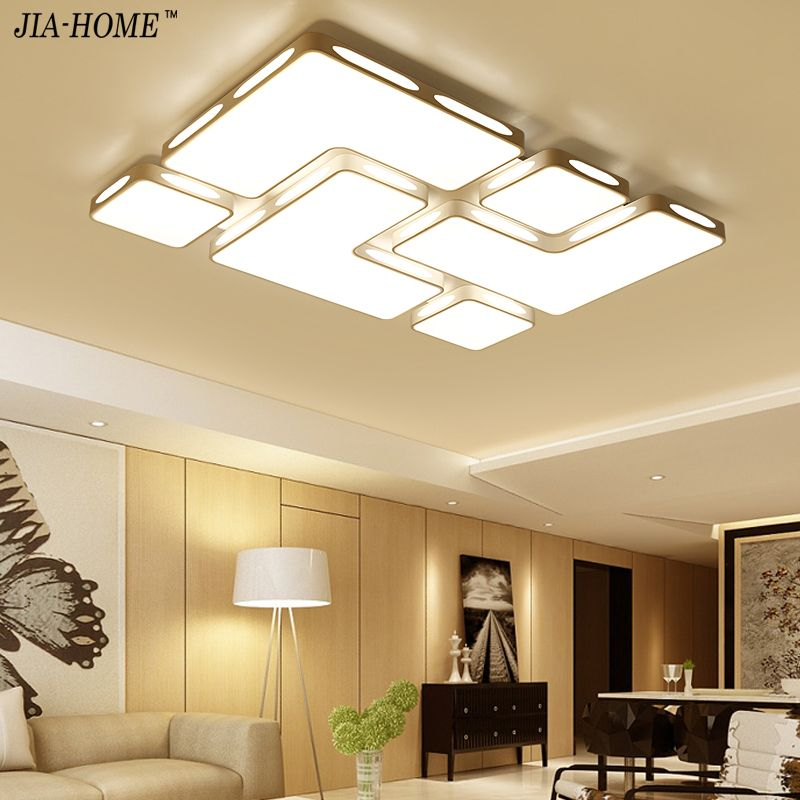 Led Remote control ceiling lights for living room Bedroom Surface mounted plafonnier luminaire modern Home Ceiling Lamp fixture