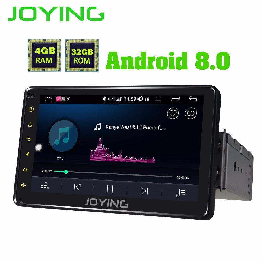 JOYING 4 GB RAM 64 GB ROM 1din 7 ''Android 8.1 auto radio Gebaut in 4G modul GPS audio octa core HD kopf einheit Video Out Kassette