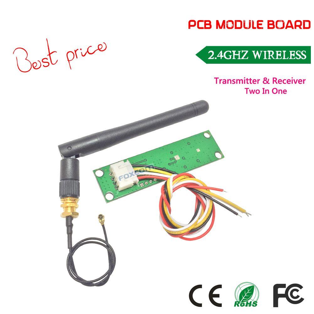 Livraison gratuite meilleur prix sans fil DMX512 2.4G LED stade lumière PCB Modules carte LED de contrôle émetteur récepteur avec antenne