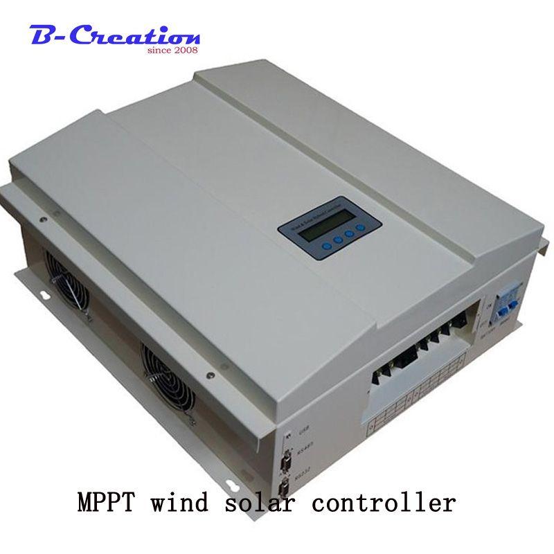 Fabrik preis 2000w 48 v/96 v/120 v 2000w wind Off Grid Intelligente MPPT Wind solar Hybrid Laderegler mit LCD display