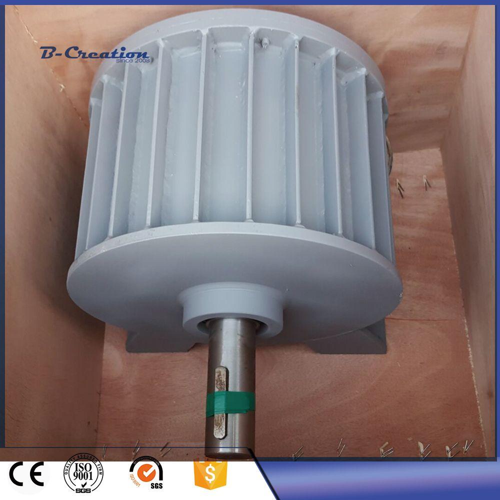 Fabrik preis 5000 watt/5KW wind power generator Niedrigen DREHZAHLEN AC 220 v 380 v Drei Phase Permanent Magnet generator für den heimgebrauch