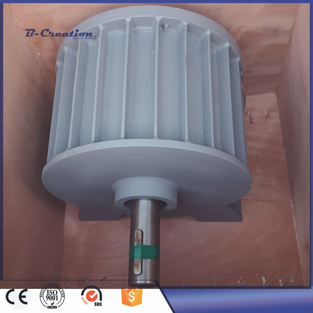 Factory price 5000w/5KW wind power generator Low RPM AC 220V 380V Three Phase Permanent Magnet Generator for home use