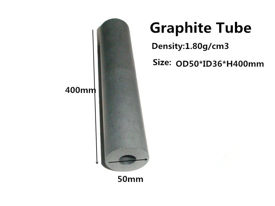 Carbon-Graphite Tube  OD50*400mm ,     graphite protective sleeve for graphite heat pipes