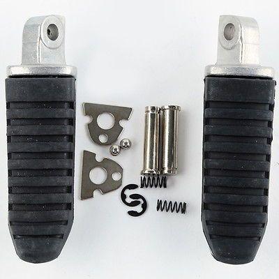 Aluminum Rear Foot Pegs Footrest For Suzuki Hayabusa GSX1300R GSX650 GSX1400 GSF1250 Bandit 1250 / GSX1250 2008-2011 pair