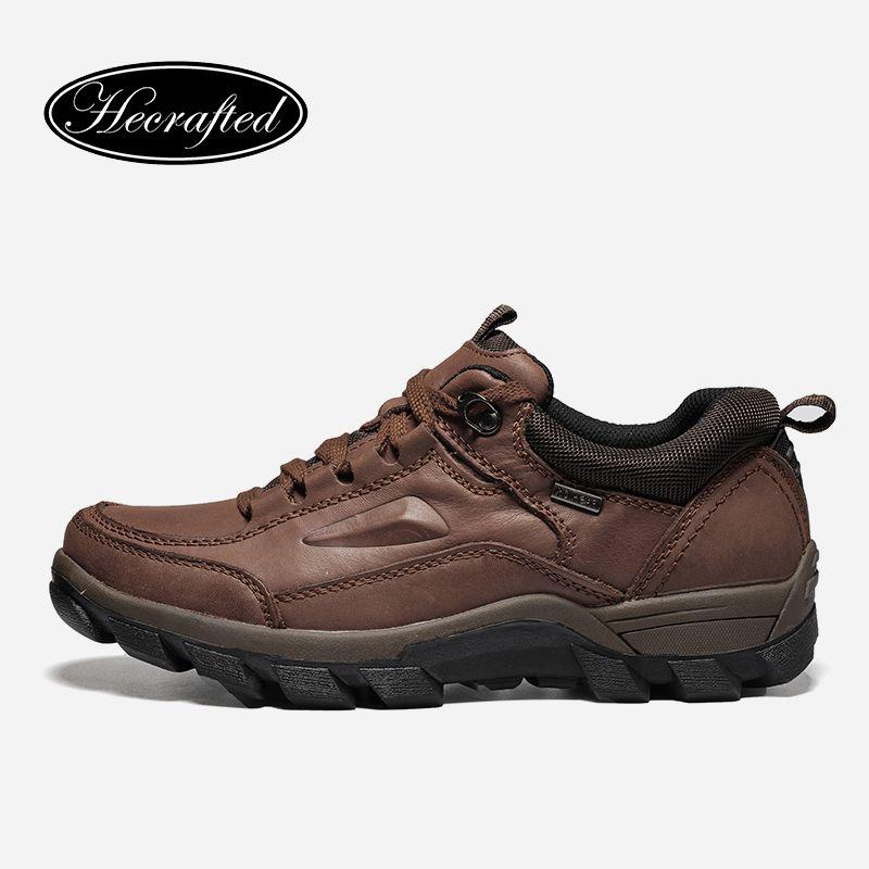 Большие размеры Винтаж из натуральной кожи мужские ботинки # wzdx