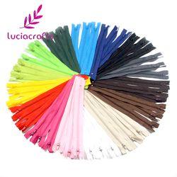 -Lucie artisanat 20 cm Longueur Coloré Nylon Coil Fermetures Sur Mesure Vêtement À Coudre Artisanat BRICOLAGE Accessoires 6 pcs/15 pcs 089055