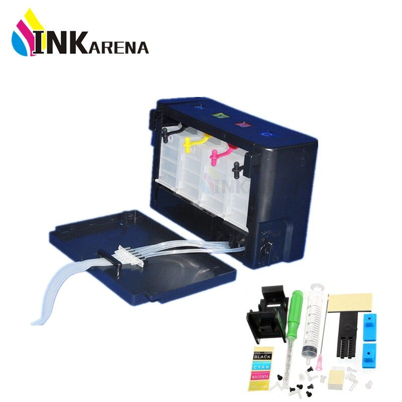 Continuous Ink Supply System Ciss Tank Replacement For HP 21 22 301 302 121 122 901 650 For Canon PG445 PG510 Printer Cartridge