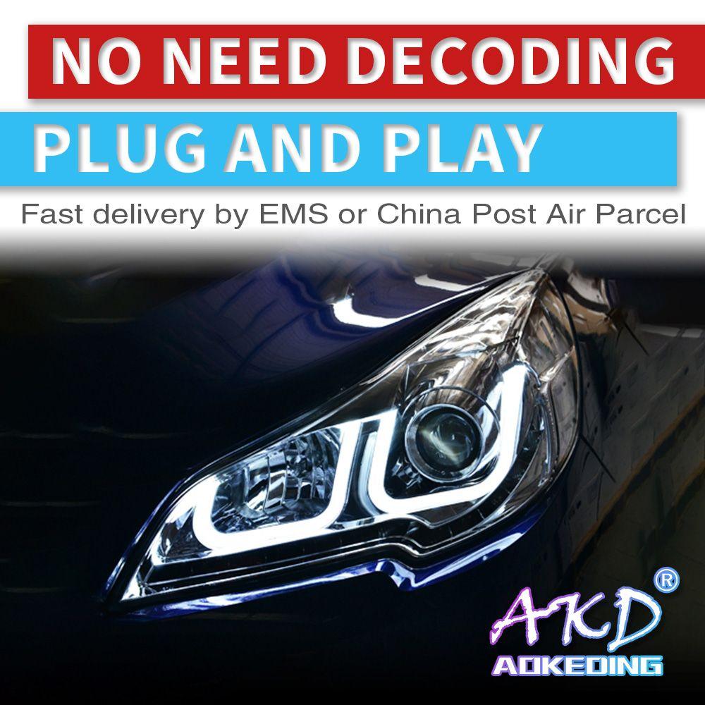 AKD tuning autos Scheinwerfer Für Sabaru Outback Legacy Scheinwerfer LED DRL Lauf lichter Bi-Xenon Strahl Nebel lichter engel augen Auto