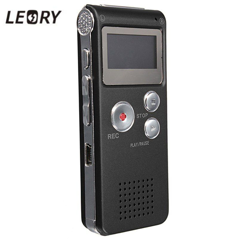 LEORY Beste 8 GB Mini Digital Audio Voice Recorder Diktiergerät Mp3-player Aufnahme Stift Recorder Pen Wiederaufladbare
