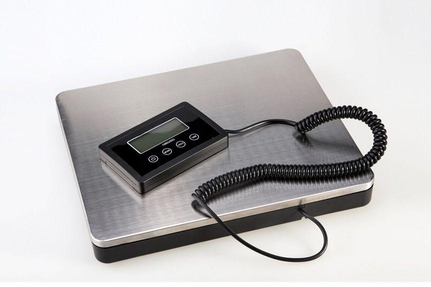 Nouveauté balance postale poids électronique balances commerciales plate-forme numérique balances 180 KG/100g