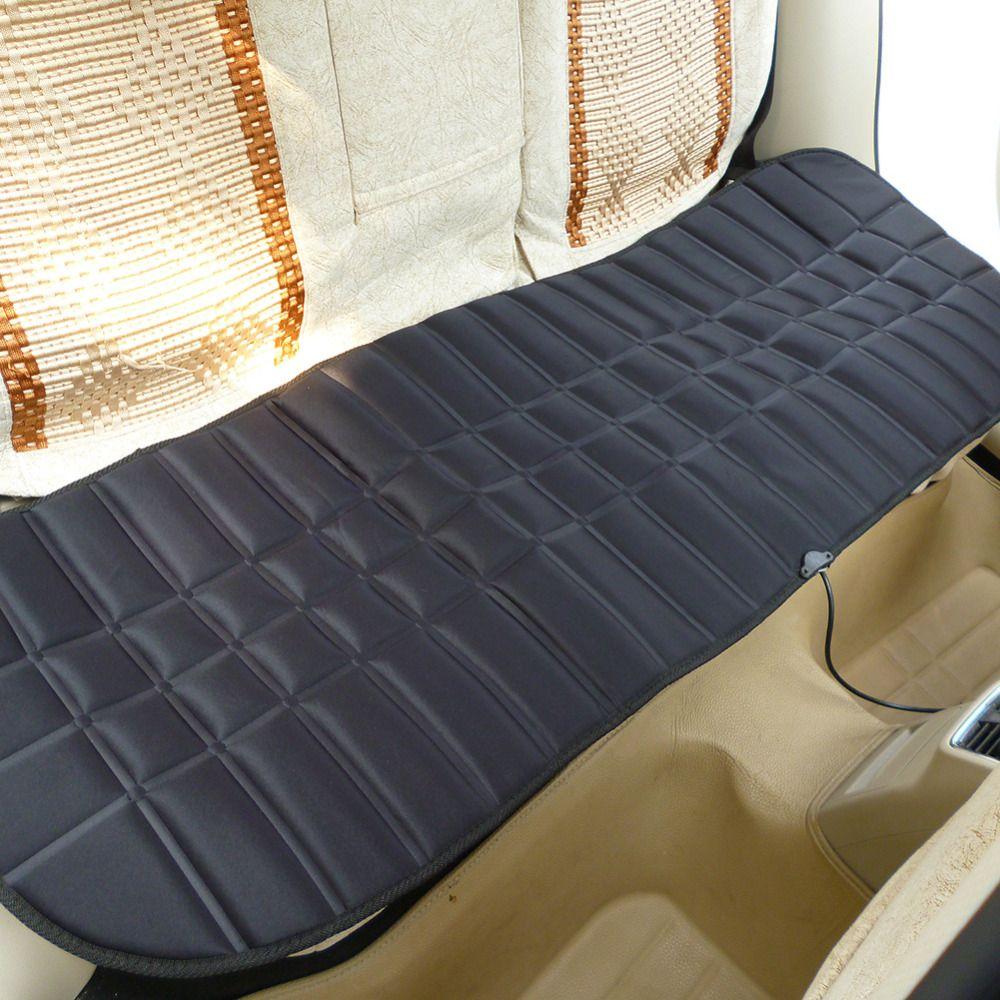 DC12V 45 Вт Универсальный теплые зимние заднем ряду подушки сиденья автомобиля термостат Грузовик сиденья с подогревом Цвет Черный, серый