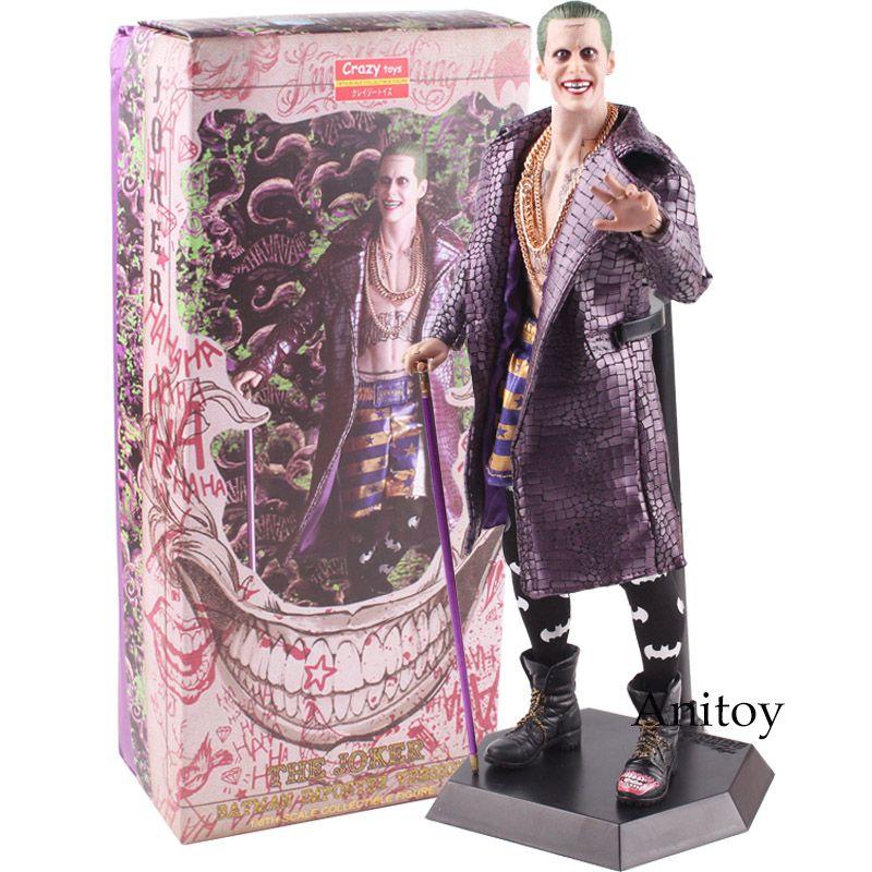 Crazy Toys The Joker DC Jack Batman Imposter Version Justice League Batman Joker Action Figure Doll Toys Gift 31cm