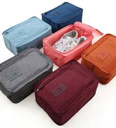 2017 hot Waterproof  Women Travel Cosmetic Bag Organizer Makeup Case Pouch Toiletry Make Up Bag men's shose bag