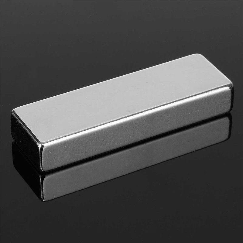 1 stück 60x20x10mm N52 Block Super Strong Quader Rare Earth Neodym Magneten 60mm x 20mm x 10mm Magnet High Quality