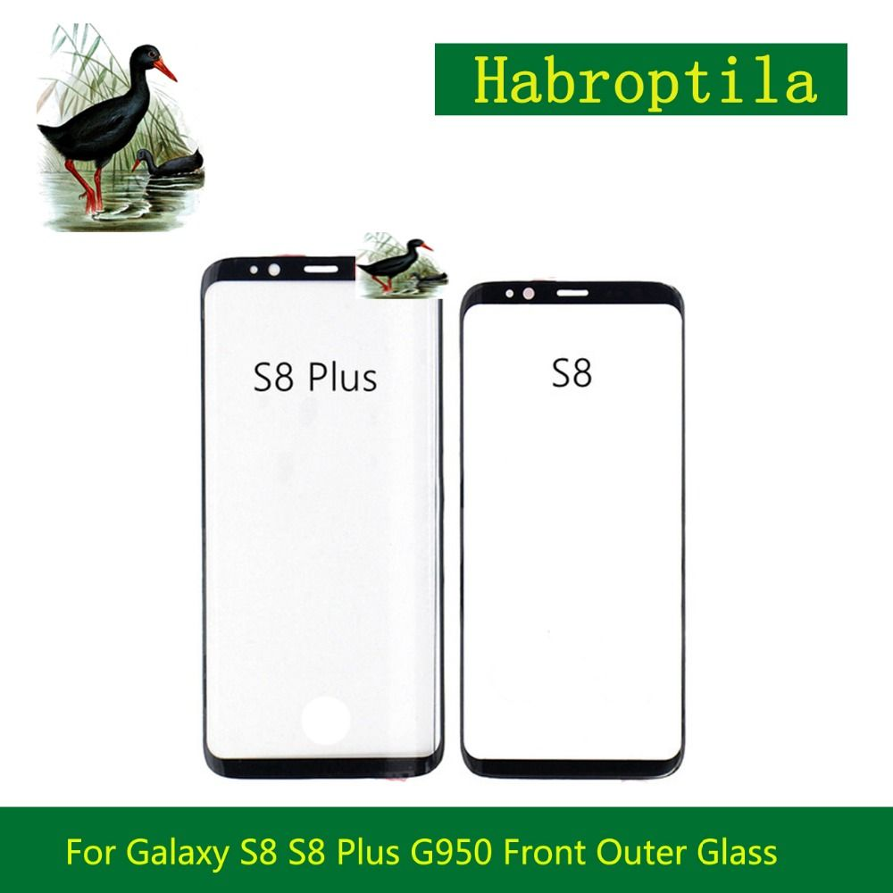 For Samsung Galaxy S8 S8 Plus G950 G950F G955 Front Outer Glass Lens 5.8