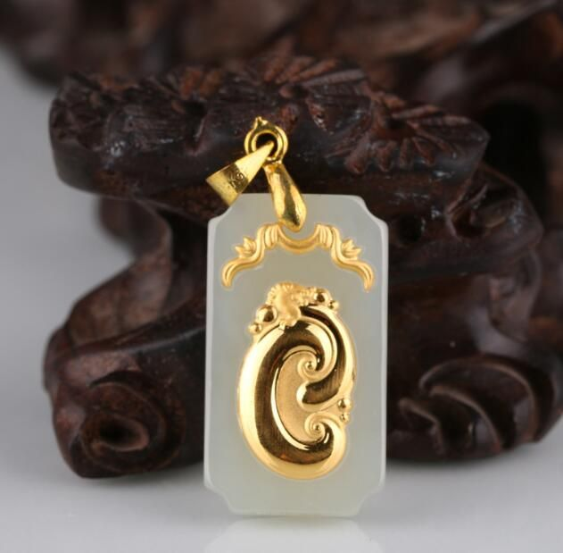 2018 New Arrival Discount Hot Sales Jade Pendants For Men Women Jewelry Necklaces Free Shipping