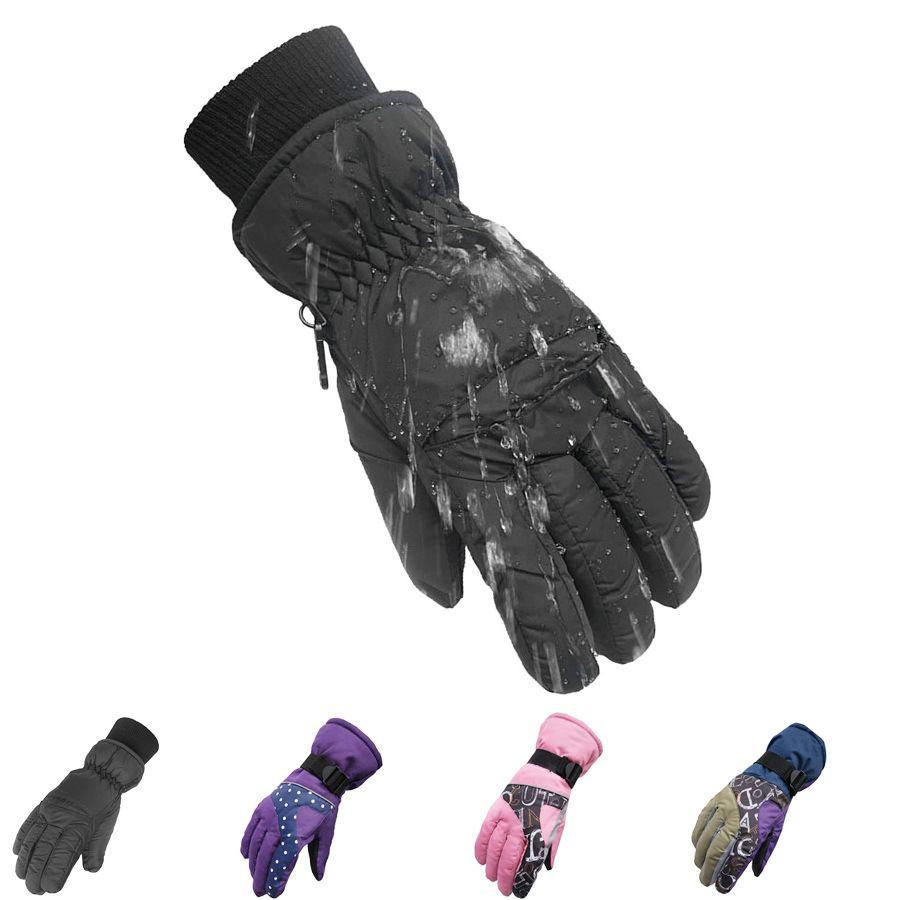 2017 Top Qualität Neue Marke männer Ski Handschuhe Snowboard Snowmobile Motorrad-reiten Winterhandschuh Winddicht Wasserdicht Schnee Handschuh