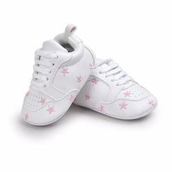 Hot múltiples Estrella zapatos del bebé primer caminante cordones zapatos moda bebé para 0-18 meses