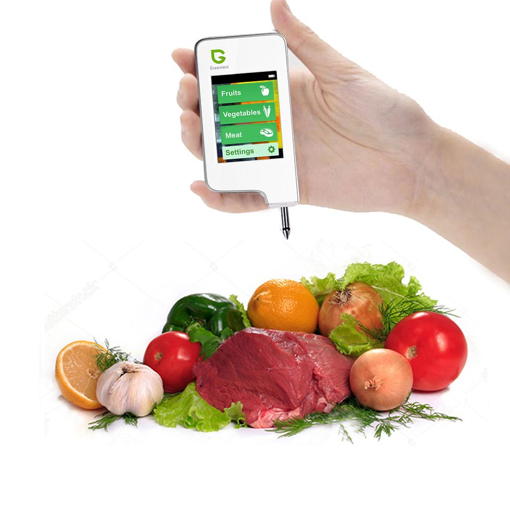 Greentest High Accuracy Read Digital Food Nitrate Tester,Meat Fruit Vegetable <font><b>Detection</b></font> (White) Health Care Nitrate