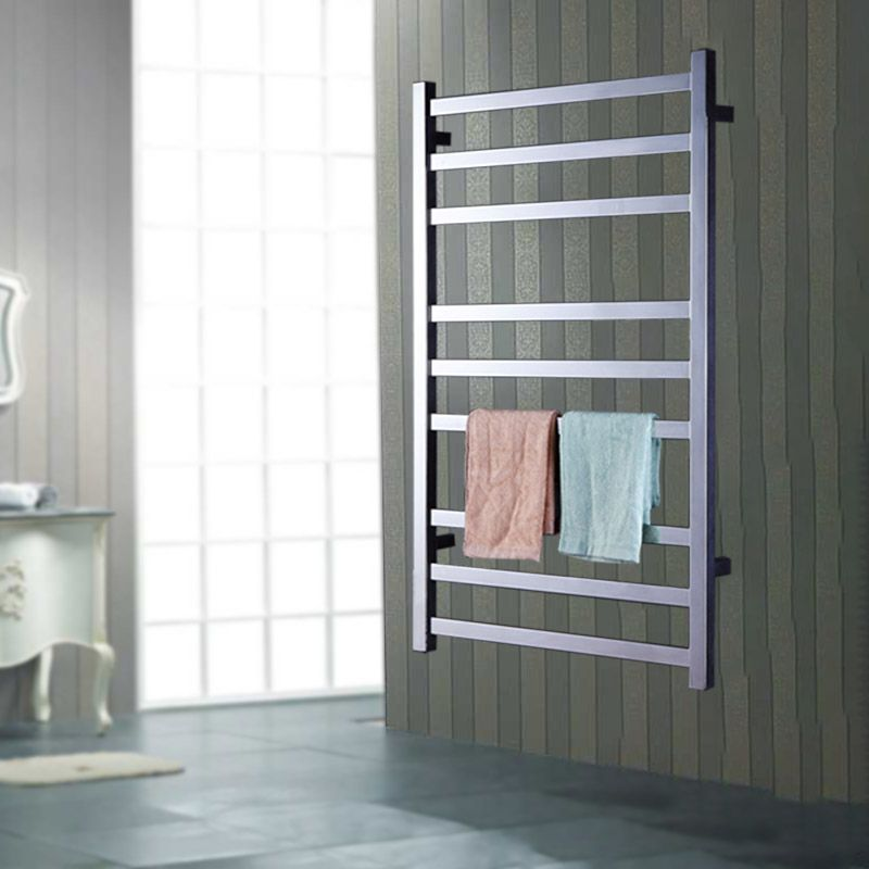 Yijin SIND HZ-918 Elektrische Handtuchwärmer Wand Stil Handtuchwärmer Schienen 304 Edelstahl Handtuchtrockner Regal für bad