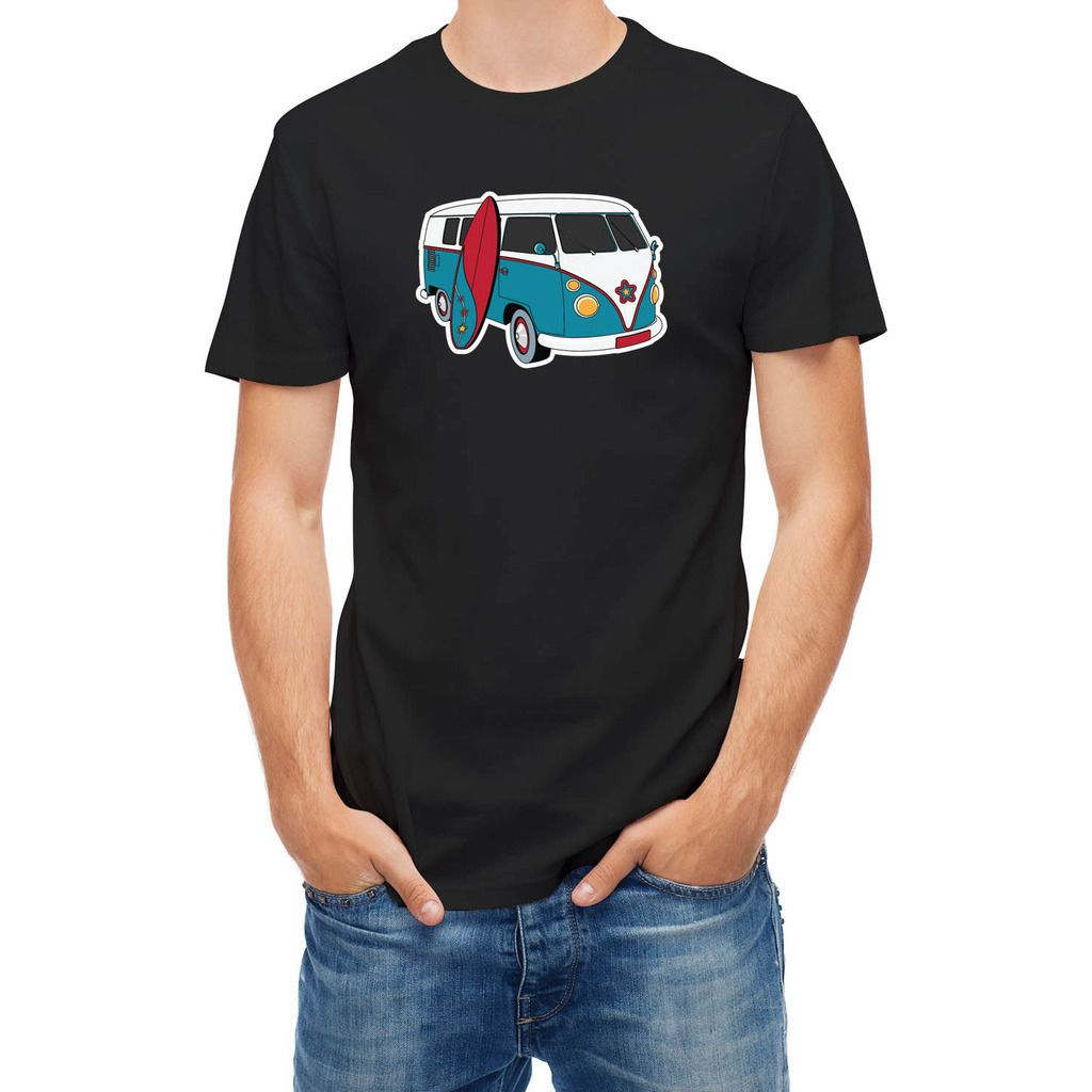 T-shirt Surfer Traveler Adventure Surfer  Hip Hop Novelty T Shirts Men'S Brand Clothing Top Tee T Shirt High Quality