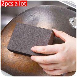 2 Pcs/Vanzlife Nanometer Emery Sponge Magic Cuci RUB Pembersihan Karat Spons Pot Derusting Membersihkan Spons