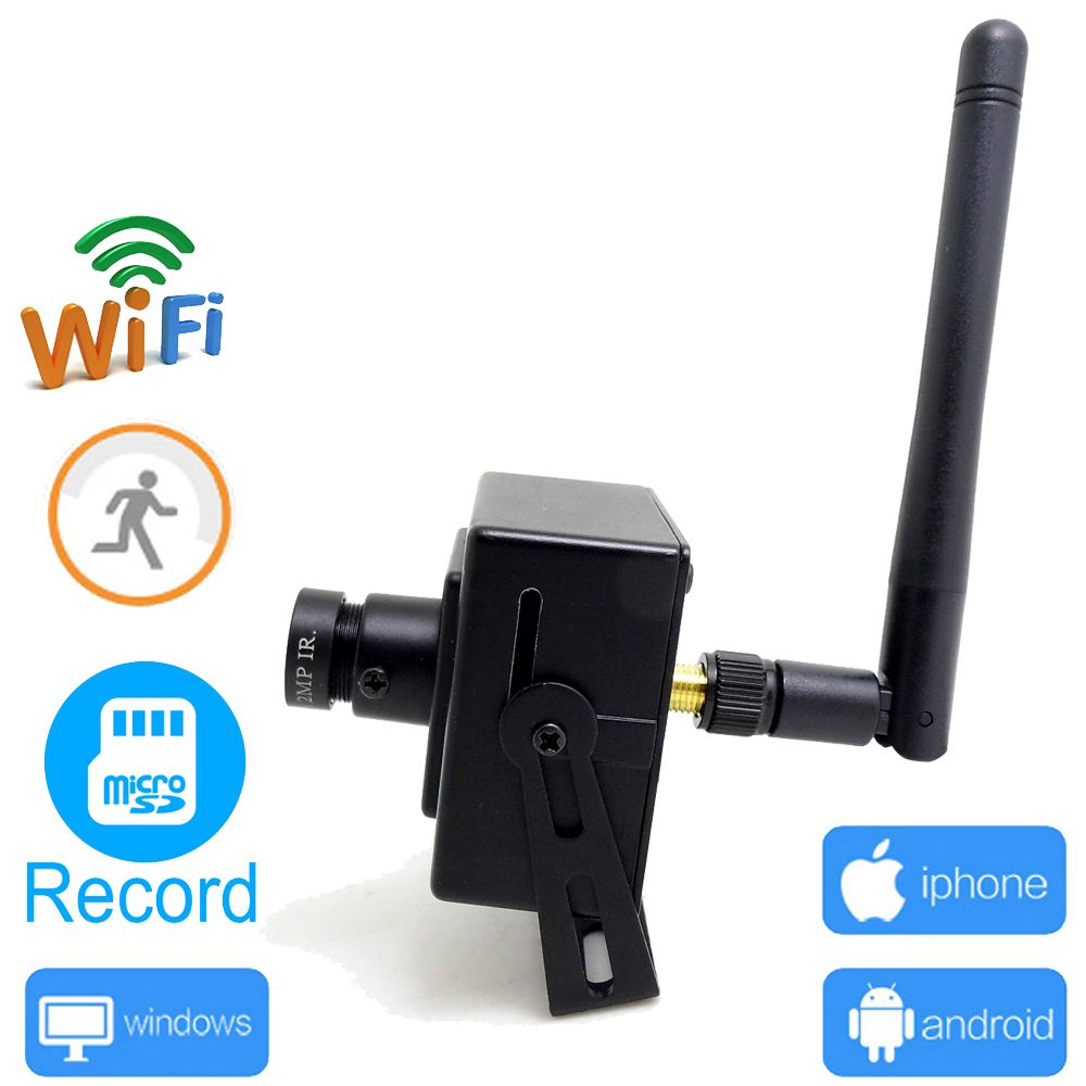 Caméra ip wifi 720 p mini sans fil wi-fi de sécurité cctv surveillance de la maison la maison micro cam soutien micro sd enregistrement JIENU