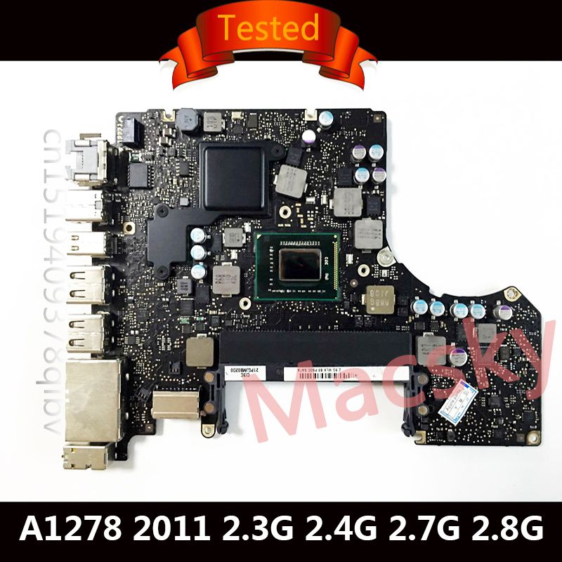 Tested A1278 Motherboard for Macbook Pro 13
