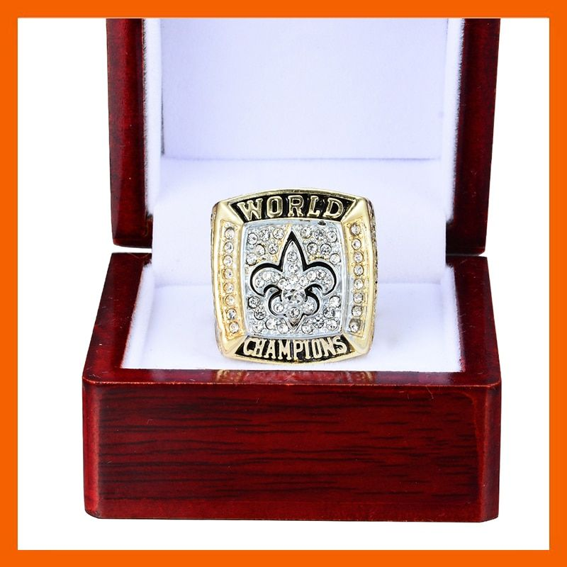 2009 NEW ORLEANS SAINTS SUPER BOWL XLIV WORLD CHAMPIONSHIP RING US SIZE 8 9 10 11 12 13 14 AVAILABLE