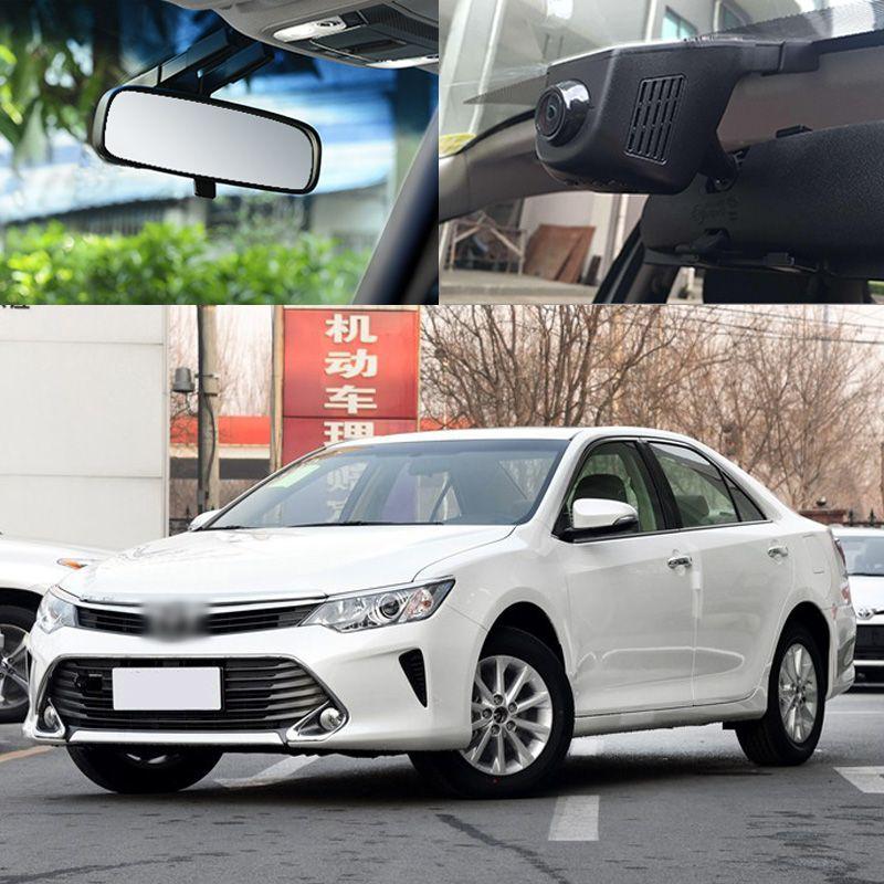 BigBigRoad Pour Toyota Camry Voiture Wifi DVR Conduite Enregistreur Vidéo cachée type FHD 1080 p Vision Nocturne DashCam