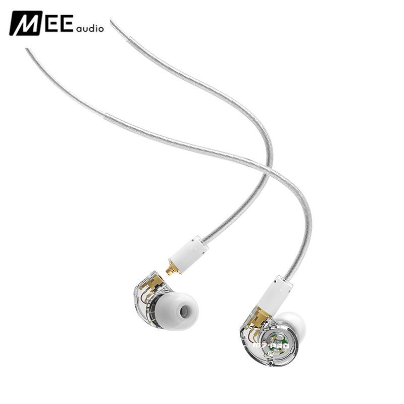 New Original MEE Audio M7 PRO Balanced Armature + Dynamic Hybrid Dual-Driver BA+DD Noise Cancelling Music HIFI Monitor Earphones